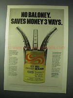1978 Conoco New Generation All Season Motor Oil Ad