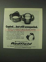 1978 Redfield Scope Mounts Ad - Copied but Unequaled