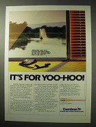 1986 Cwmbran Britain Development Ad - For Yoo-Hoo