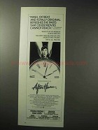 1986 After Hours Movie Ad - Fresh, Offbeat and Original