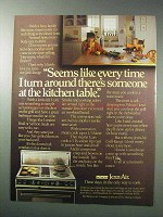 1986 Jenn-Air Grill-Range Ad - Every Time I Turn Around
