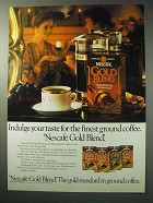 1986 Nescafe Gold Blend Coffee Ad - Taste for Finest