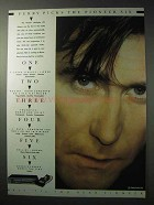 1986 Pioneer Six Multiplay CD Player Ad - Bryan Ferry