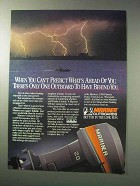 1986 Mariner Outboard Motors Ad - You Can't Predict