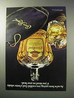 1986 Seagram's Crown Royal Whisky Ad - Stood on Head