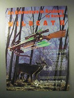 1986 Barnett Wildcat Crossbow Ad - An Adventure