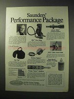 1986 Saunders Archery Ad - Performance Package