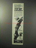 1986 Thompson / Center Arms TCR '83 Rifle Ad - Moose