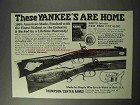 1986 Thompson / Center Arms Rifles Ad - Yankee's