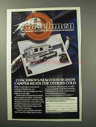 1986 Coachmen Truck Camper Ad - Beats the Others Cold