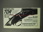 1986 Thompson / Center Arms TCR '83 Rifle Ad