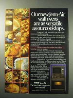 1985 Jenn-Air Microwave/Convection Wall Oven Ad