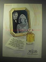 1985 Carrington Parfums Forever Krystle Perfume Ad