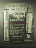 1985 York ST Overdraw Bow Ad - A New Era Begins