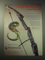 1985 Barnett Sidewinder Bow Ad - A New Adventure