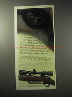 1985 Redfield Illuminator Scope Ad - Half Hour to Sunup