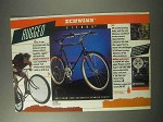 1985 Schwinn Sierra Bicycle Ad - Rugged