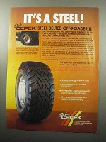 1989 Dick Cepek Steel Belted Off-Roader II Tire Ad