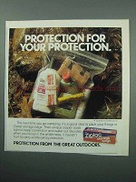 1989 Ziploc Storage Bags Ad - Protection For Protection