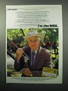 1988 National Rifle Association Ad - Curt Gowdy