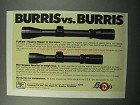 1988 Burris Fullfield and Mini Scopes Ad