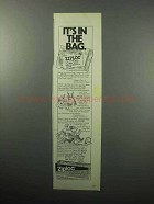 1987 Ziploc Storage Bags Ad - In The Bag
