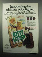 1987 Kitty Litter Brand Ad - Ultimate Odor Fighter