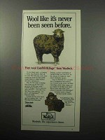 1987 Woolrich CamWOOLflage Ad - Never Been Seen Before