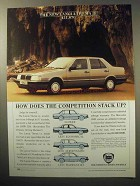 1987 Lancia Thema i.e. Car Ad - Competition Stack Up