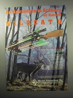 1987 Barnett Wildcat II Crossbow Ad - An Adventure