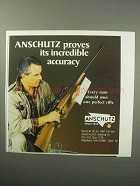 1987 Anschutz Rifle Ad - Proves Incredible Accuracy