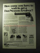 1977 Dan Wesson Model 15-2VH8 Revolver Ad