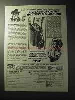 1977 Midland C.B. Model 13-861 Radio Ad - Hottest