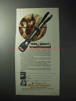 1977 Redfield Traditional Scope Ad - Price x Quality