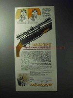 1977 Redfield Widefield Low Profile Scope Ad