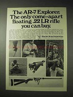 1976 Charter Arms AR-7 Explorer Rifle Ad