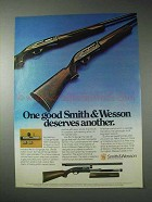 1976 Smith & Wesson 20 Gauge Model 1000 Shotgun Ad