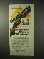 1976 Redfield RM 6400 Scope Ad - 600 Yard Gopher?