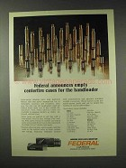 1976 Federal Cartridge Ad - Empty Centerfire Cases