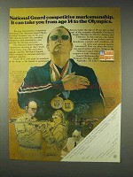 1976 U.S. National Guard Ad - Competitive Marksmanship