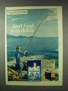 1976 Belair Cigarettes Ad - Start Fresh with Belair