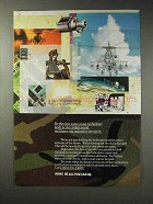 1993 U.S. Army Ad - Our Technology In Civilian World