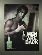 1993 Faberge Brut Cologne Advertisement - Men Are Back