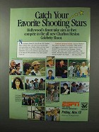 1993 ESPN Charlton Heston Celebrity Shoot Ad