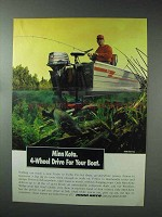 1993 Minn Kota Outboard Motor Advertisement - 4-Wheel Drive
