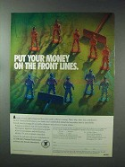 1993 National Rifle Association Ad - On the Front Lines