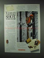 1993 Federal Cartridge Ad - Had An Unbelievable Shot