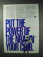 1993 NRA National Rifle Association Ad - Put Power