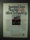1993 NRA National Rifle Association Ad - Sporting Clays