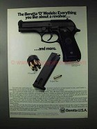 1993 Beretta 92D Centurion Pistol Ad - You Like